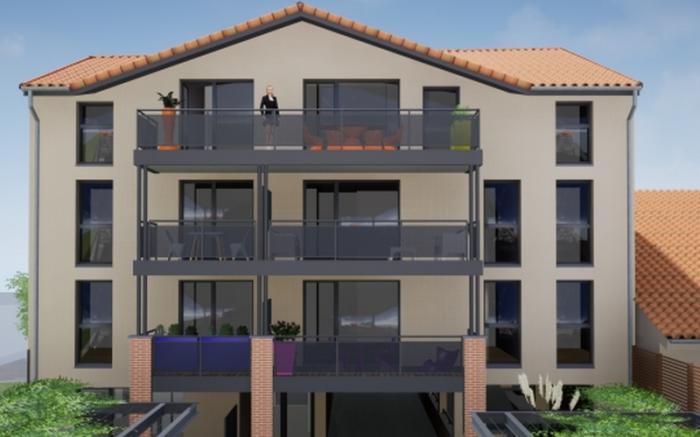 Appartements neufs Castanet-Tolosan référence 4799 : aperçu n°0