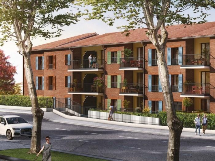 Appartements neufs Castanet-Tolosan référence 4800 : aperçu n°2