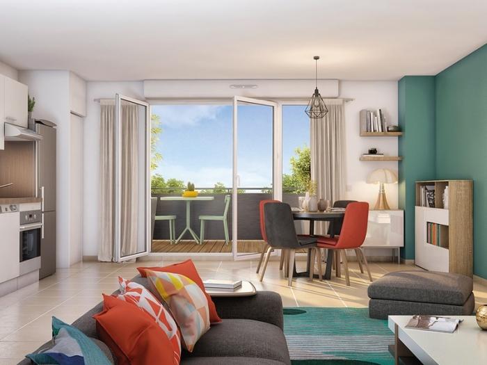 Appartements neufs Escalquens référence 4857 : aperçu n°1