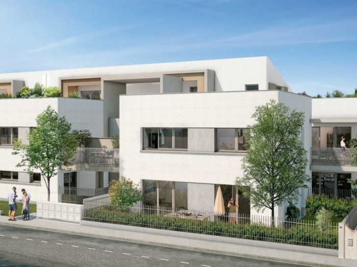 Appartements neufs Barrière de Paris référence 4774 : aperçu n°0