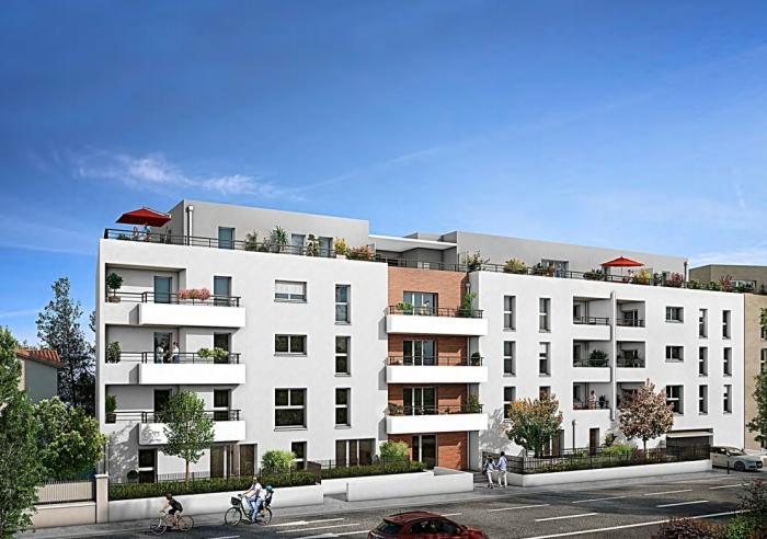 Appartements neufs Barrière de Paris référence 4773 : aperçu n°0