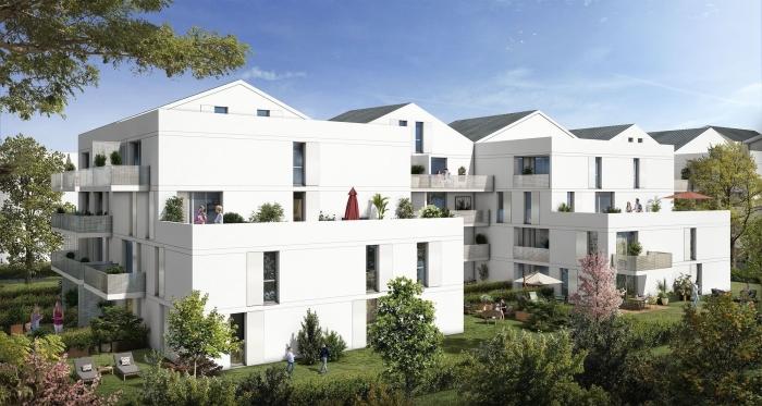 Appartements neufs Barrière de Paris référence 3848 : aperçu n°0