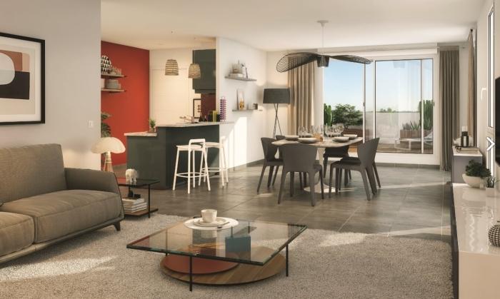 Appartements neufs Barrière de Paris référence 3848 : aperçu n°1