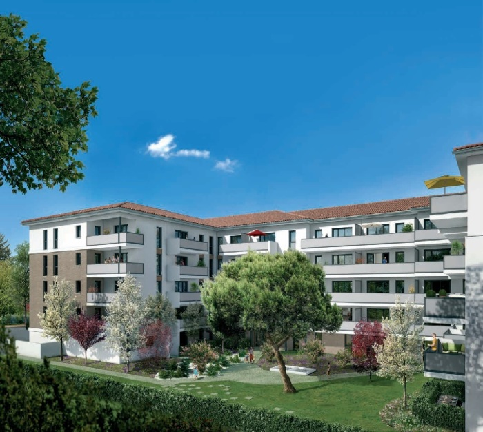 Appartements neufs Croix-Daurade référence 4847 : aperçu n°0