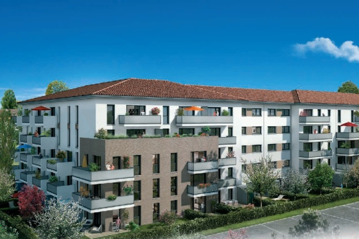 Appartements neufs Croix-Daurade référence 4847 : aperçu n°2