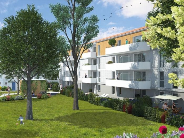 Appartements neufs Croix-Daurade référence 4848 : aperçu n°0