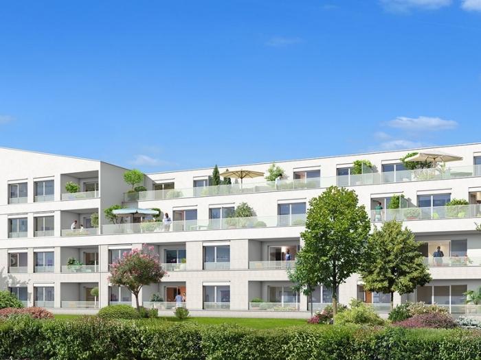 Appartements neufs Croix-Daurade référence 4849 : aperçu n°0