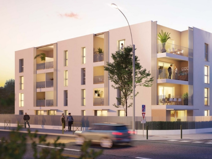 Appartements neufs Croix-Daurade référence 4835 : aperçu n°0