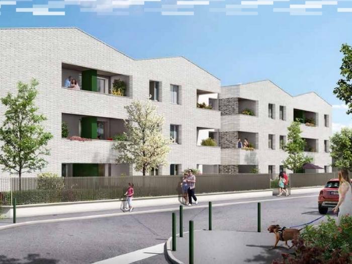 Appartements neufs Croix-Daurade référence 4836 : aperçu n°0