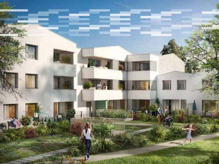 Appartements neufs Croix-Daurade référence 4836 : aperçu n°2