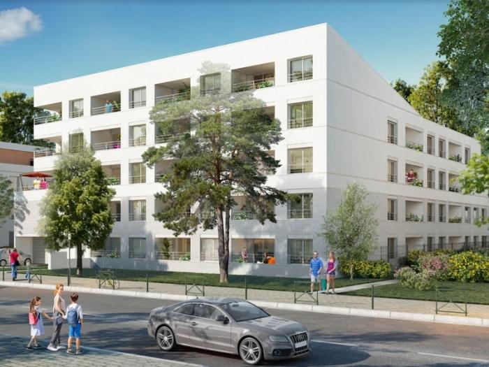 Appartements neufs Croix-Daurade référence 4840 : aperçu n°0