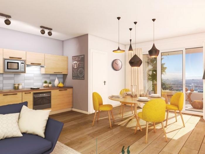 Appartements neufs Croix-Daurade référence 4840 : aperçu n°1
