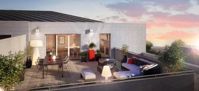 Appartements neufs La Roseraie référence 4911 : aperçu n°2