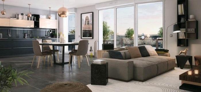 Appartements neufs La Roseraie référence 4911 : aperçu n°1