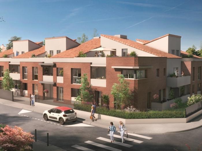 Appartements neufs La Roseraie référence 4913 : aperçu n°0