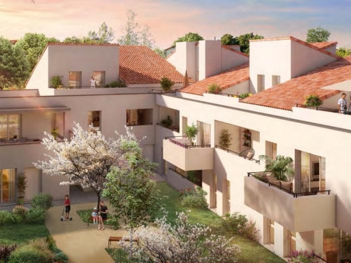 Appartements neufs La Roseraie référence 4913 : aperçu n°3