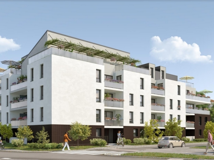 Appartements neufs La Roseraie référence 4907 : aperçu n°0