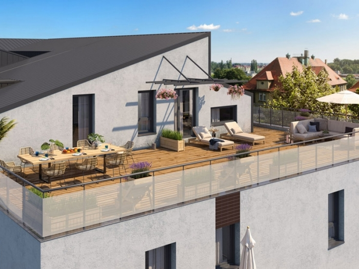 Appartements neufs La Roseraie référence 4907 : aperçu n°2