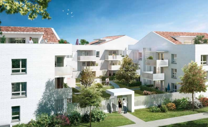 Appartements neufs La Roseraie référence 4908 : aperçu n°0