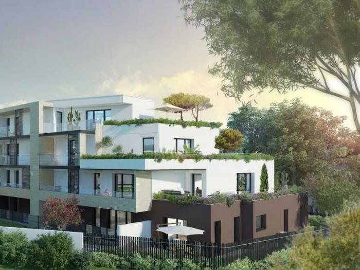 Appartements neufs La Roseraie référence 4910 : aperçu n°2