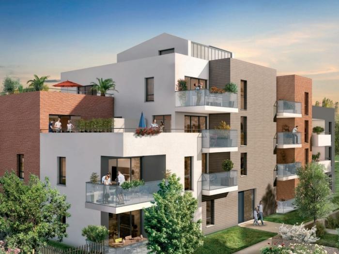 Appartements neufs Saint-Simon référence 5004 : aperçu n°0