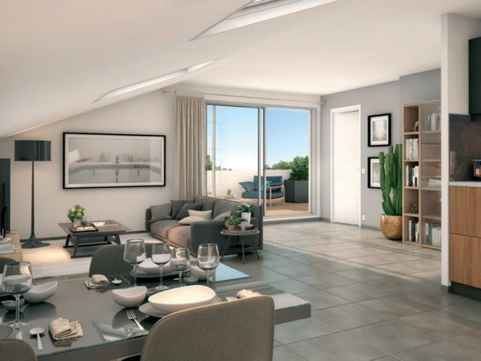 Appartements neufs Saint-Simon référence 5007 : aperçu n°2