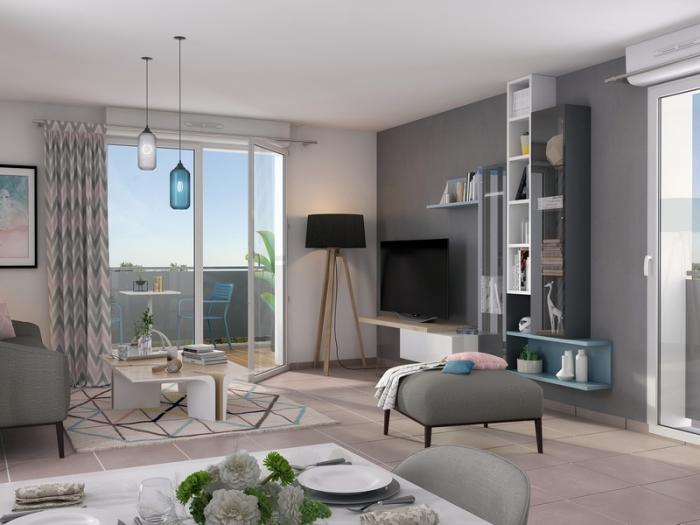 Appartements neufs Saint-Simon référence 5083 : aperçu n°1