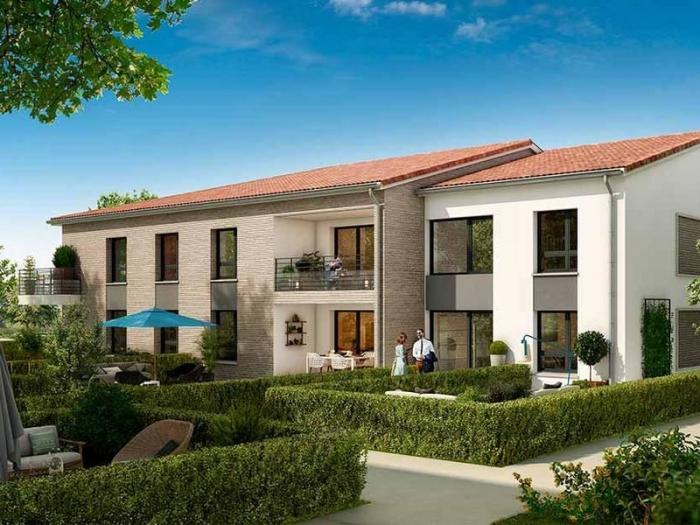 Appartements neufs Saint-Simon référence 4999 : aperçu n°0