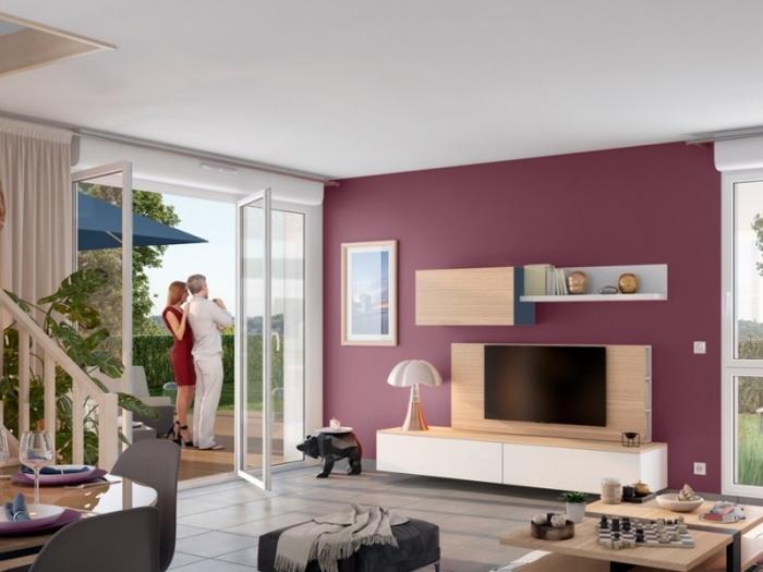 Appartements neufs Saint-Simon référence 5002 : aperçu n°1