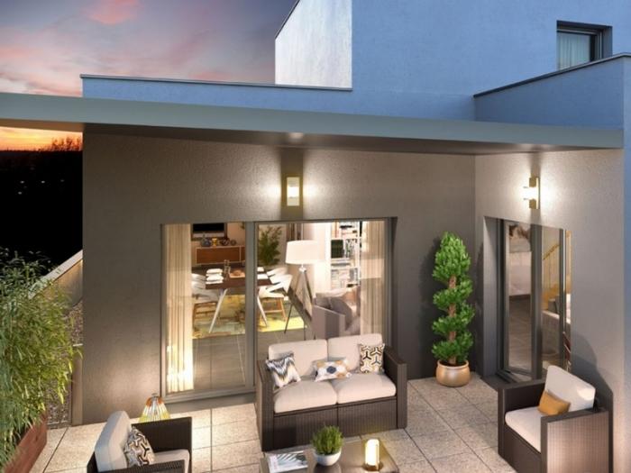 Appartements neufs Les Minimes référence 4932 : aperçu n°3