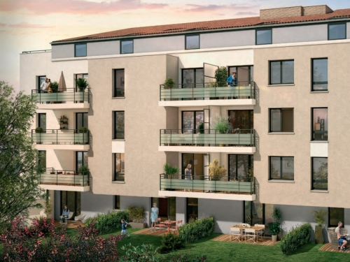 Appartements neufs Les Minimes référence 4931