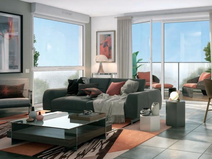 Appartements neufs Les Minimes référence 4931 : aperçu n°1