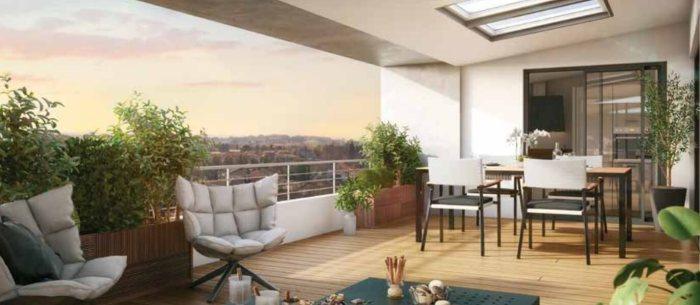 Appartements neufs Rangueil référence 4965 : aperçu n°1