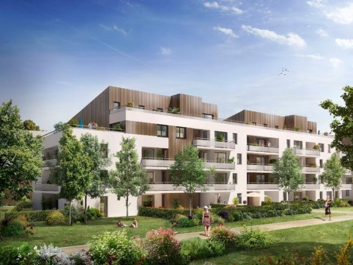 Appartements neufs Montaudran référence 5085 : aperçu n°0