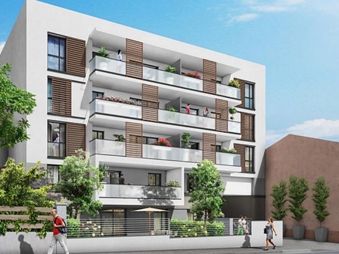 Appartements neufs Montaudran référence 4940 : aperçu n°0
