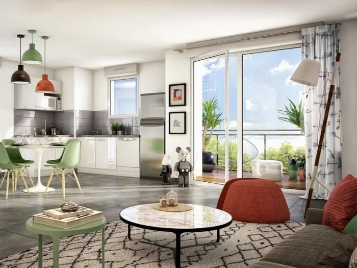 Appartements neufs Montaudran référence 4935 : aperçu n°1
