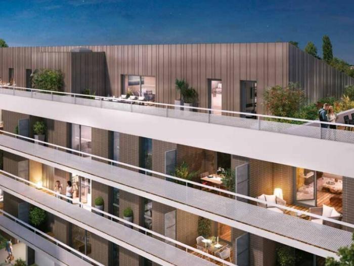 Appartements neufs Montaudran référence 4936 : aperçu n°2