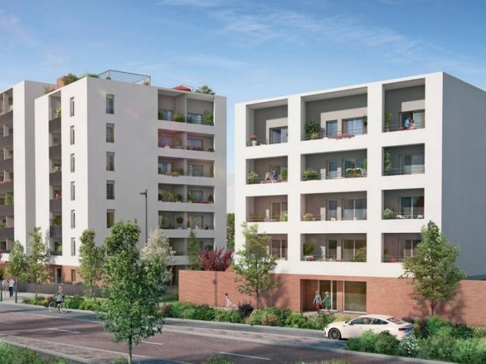 Appartements neufs Montaudran référence 4937 : aperçu n°0