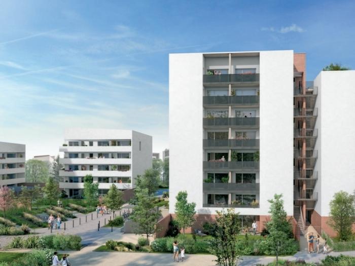 Appartements neufs Montaudran référence 4937 : aperçu n°2