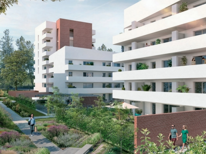 Appartements neufs Montaudran référence 4937 : aperçu n°3