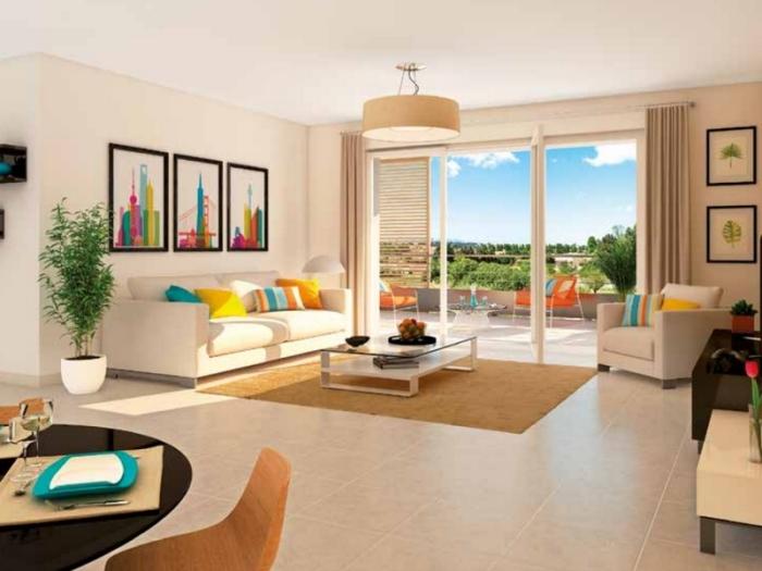 Appartements neufs Bonnefoy référence 4789 : aperçu n°1