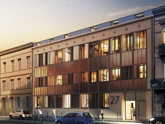 Appartements neufs Les Chalets référence 4928 : aperçu n°0