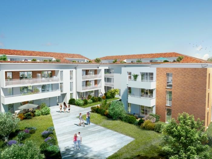 Appartements neufs Lardenne référence 4921 : aperçu n°0