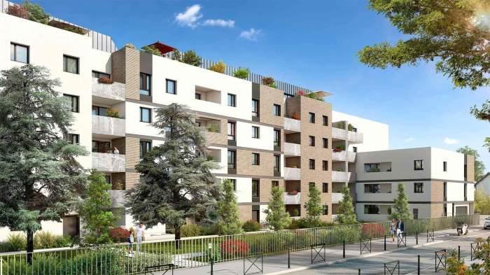 Appartements neufs Patte d'Oie référence 4943 : aperçu n°0
