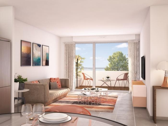 Appartements neufs Aussonne référence 4769 : aperçu n°1