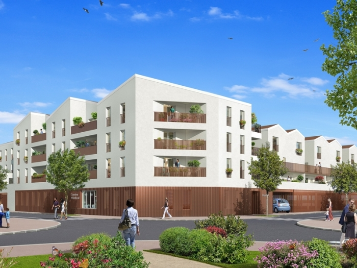 Appartements neufs Fenouillet référence 4858 : aperçu n°3