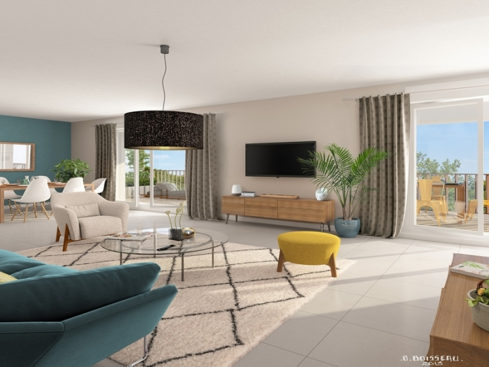 Appartements neufs Fenouillet référence 4858 : aperçu n°2