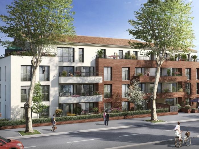 Appartements neufs Château de l'Hers référence 4817 : aperçu n°0