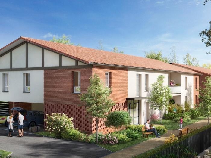 Appartements neufs Saint-Alban référence 4975 : aperçu n°0