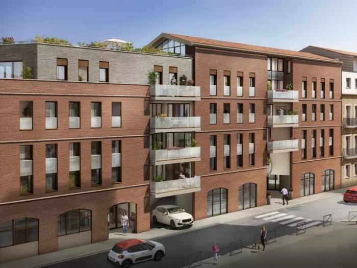 Appartements neufs Jean Jaurès référence 4867 : aperçu n°0